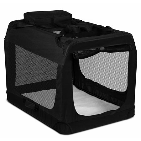 Oxgord Foldable Soft Sided Pet Carrier Training Kennel