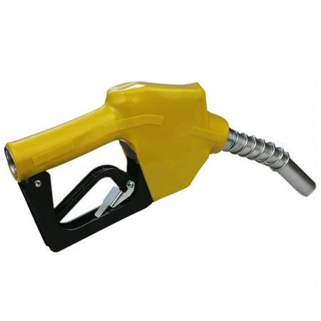 Automatic Fueling Nozzle Auto Shut Off Diesel Kerosene Biodiesel Fuel Refilling (Yellow) (Automatic Sheet)