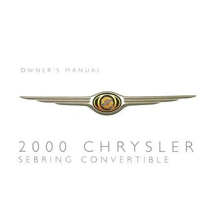 Bishko OEM Repair Maintenance Owner'S Manual Bound for Chrysler Sebring Convertible (2000 00 Sebring Convertible)