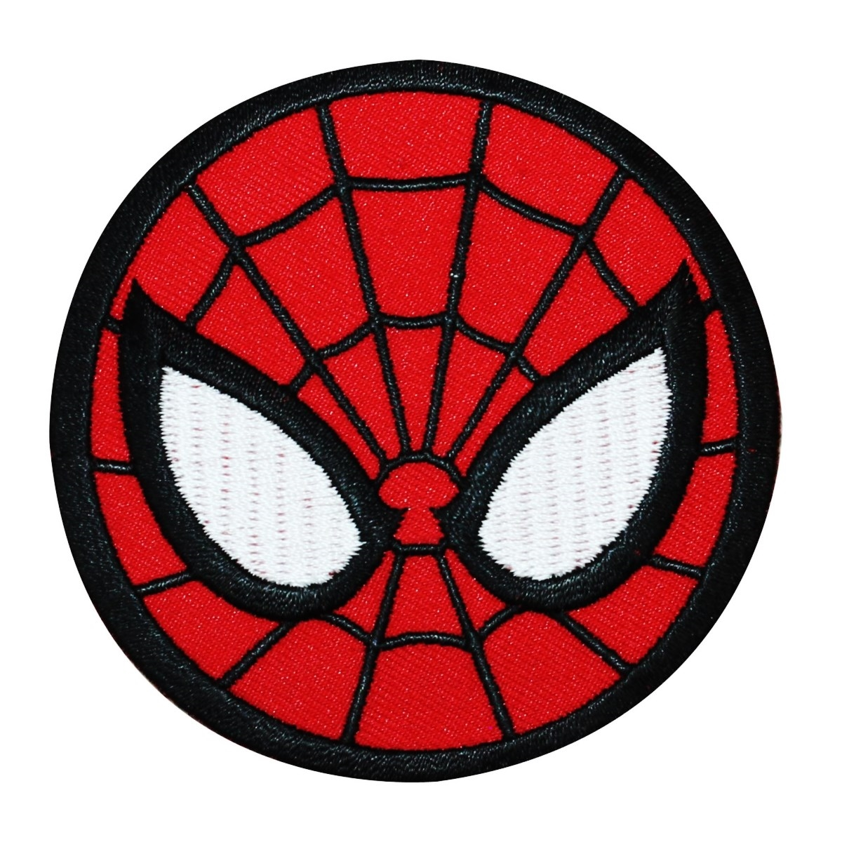 Spider-Man Logo Iron-On Patch Marvel Comic DIY Superhero Outfit Apparel Applique