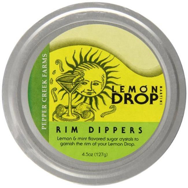 Pepper Creek Farms 102G Lemon Drop Rim Dipper - Pack of 6