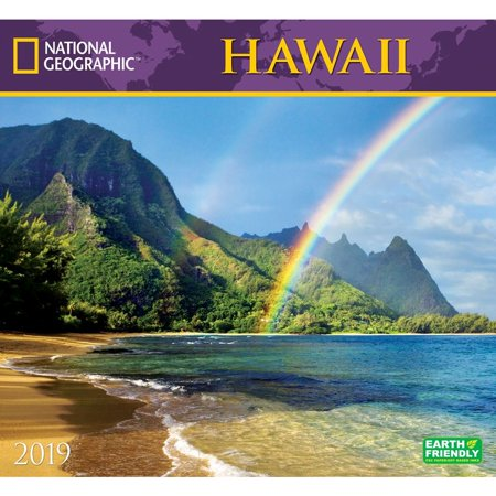 2019 Hawaii NG Wall Calendar, by Zebra