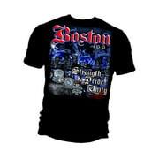 Elite Breed Boston Strong T-shirt by , Black