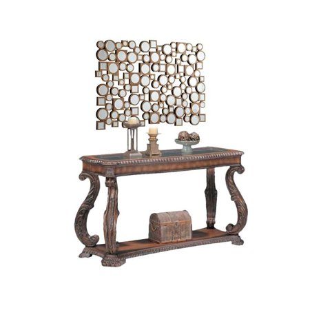2 Piece Hallway Set with Console Table and Accent Mirror ()