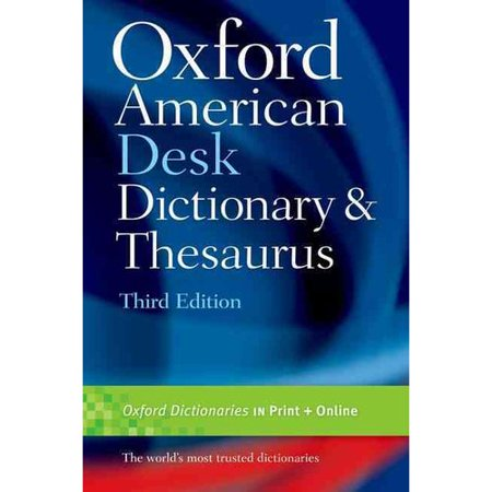 Oxford american desk dictionary and thesaurus for Cuisine thesaurus