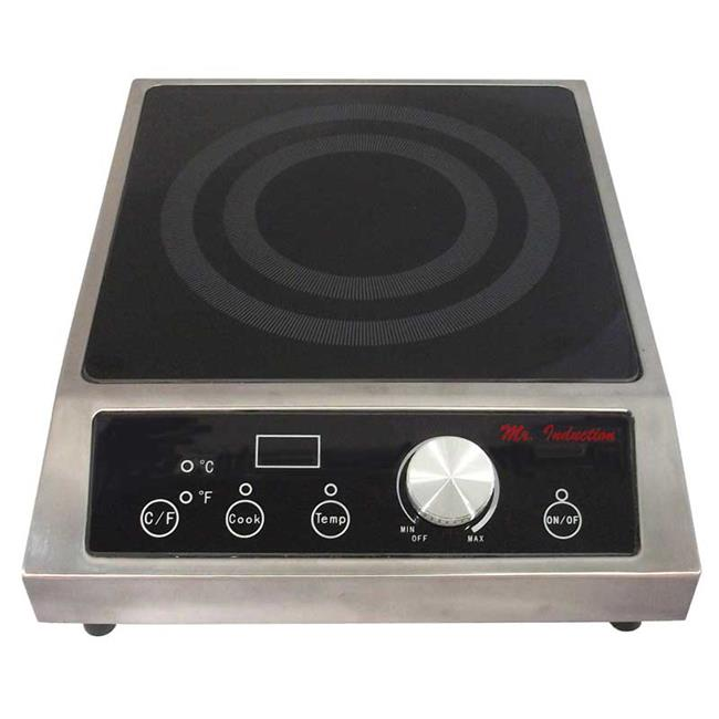 3400 watt Countertop Commercial Range Induction