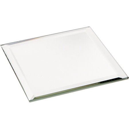Beveled Glass Mirror, Square 3mm - 3