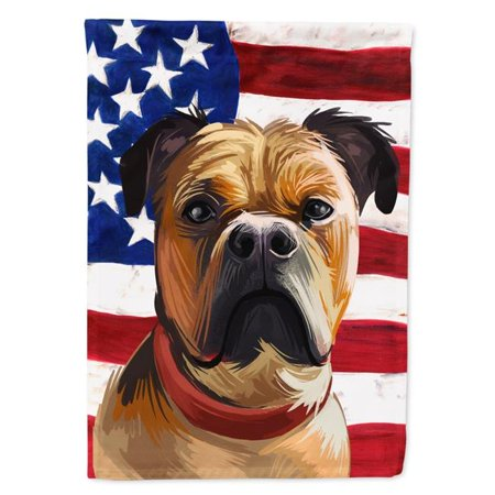 Carolines Treasures CK6641CHF Perro De Presa Mallorquin American Canvas House Flag - 28 x 0.01 x 40 in. - image 1 of 1