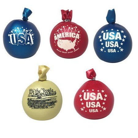 IsoFlex American Stress Ball Hand Massager in Assorted Designs & Colors (6 Pieces)