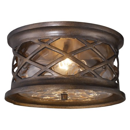 - Elk Lighting Barrington Gate Ceiling Light - 12W in. Hazelnut Bronze