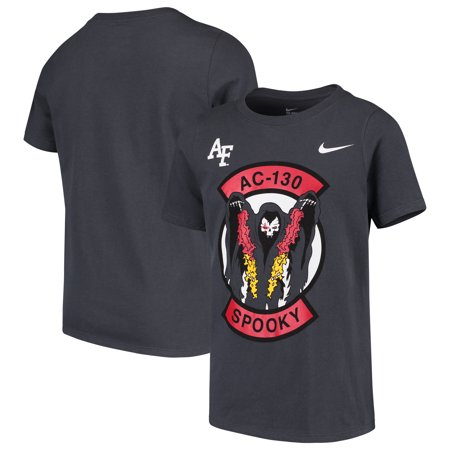 Air Force Falcons Nike Youth Spooky AC-130 T-Shirt - Anthracite](Nike Air Mags)
