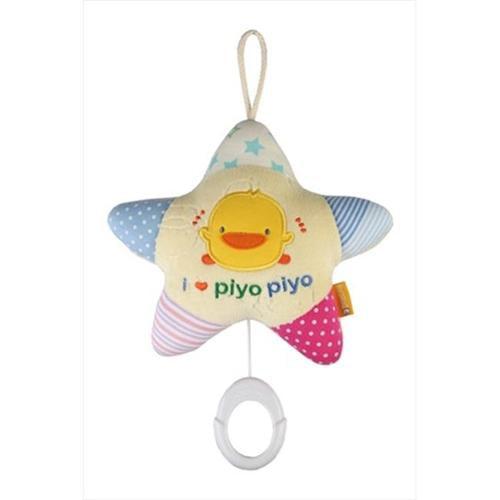Piyo Piyo 700007 Star Shaped Soft Lullaby Toy - Pack of 6