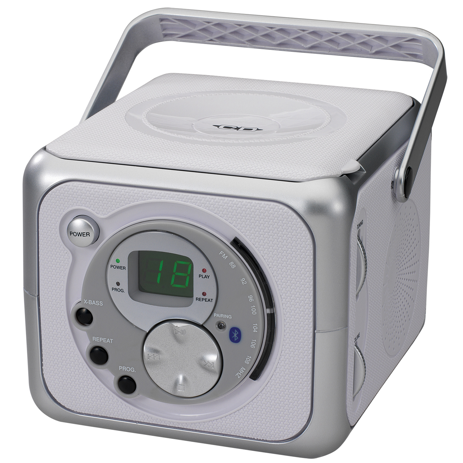 Jensen Portable BT Music System with CD Player by Jensen