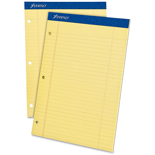 Esselte Ampad Perforated Ruled Pads