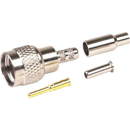 RF Industries - MiniUHF Male Crimp-RG174U