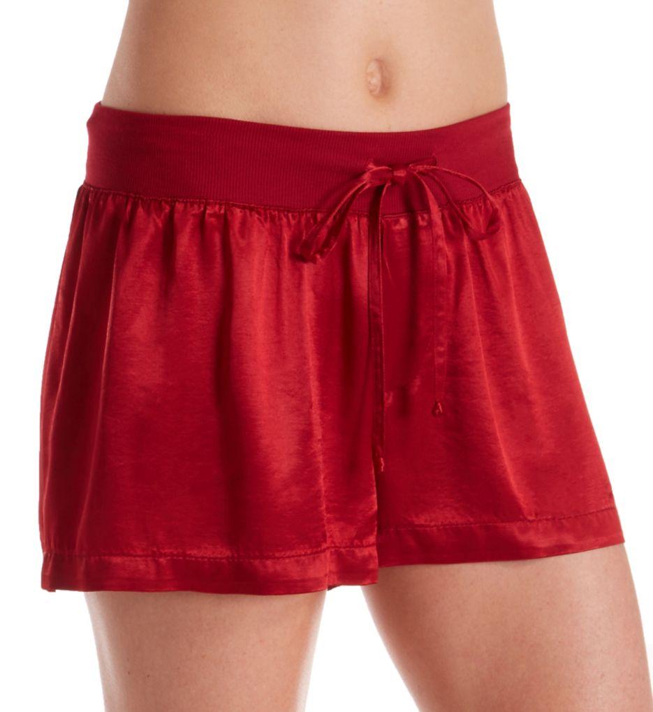 PJ Harlow Womens Mikel Satin Boxer Short