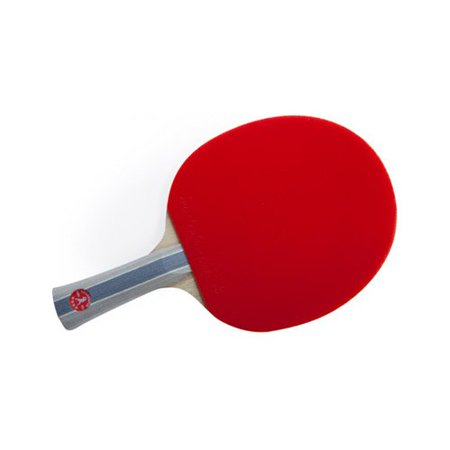 Killerspin 110-10 Jet700 All Wood 7-Layer Table Tennis Racket with Flared Handle