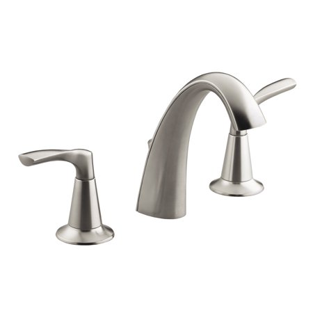 "Kohler R37026-4D1-BN 8"" - 16"" Brushed Nickel Mistos® Two Handle Widespread Lavatory Faucet"