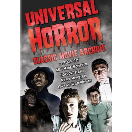 Universal Horror Classics Movie Archive (DVD) (Universal Studios Halloween Horror Nights Discount Tickets)