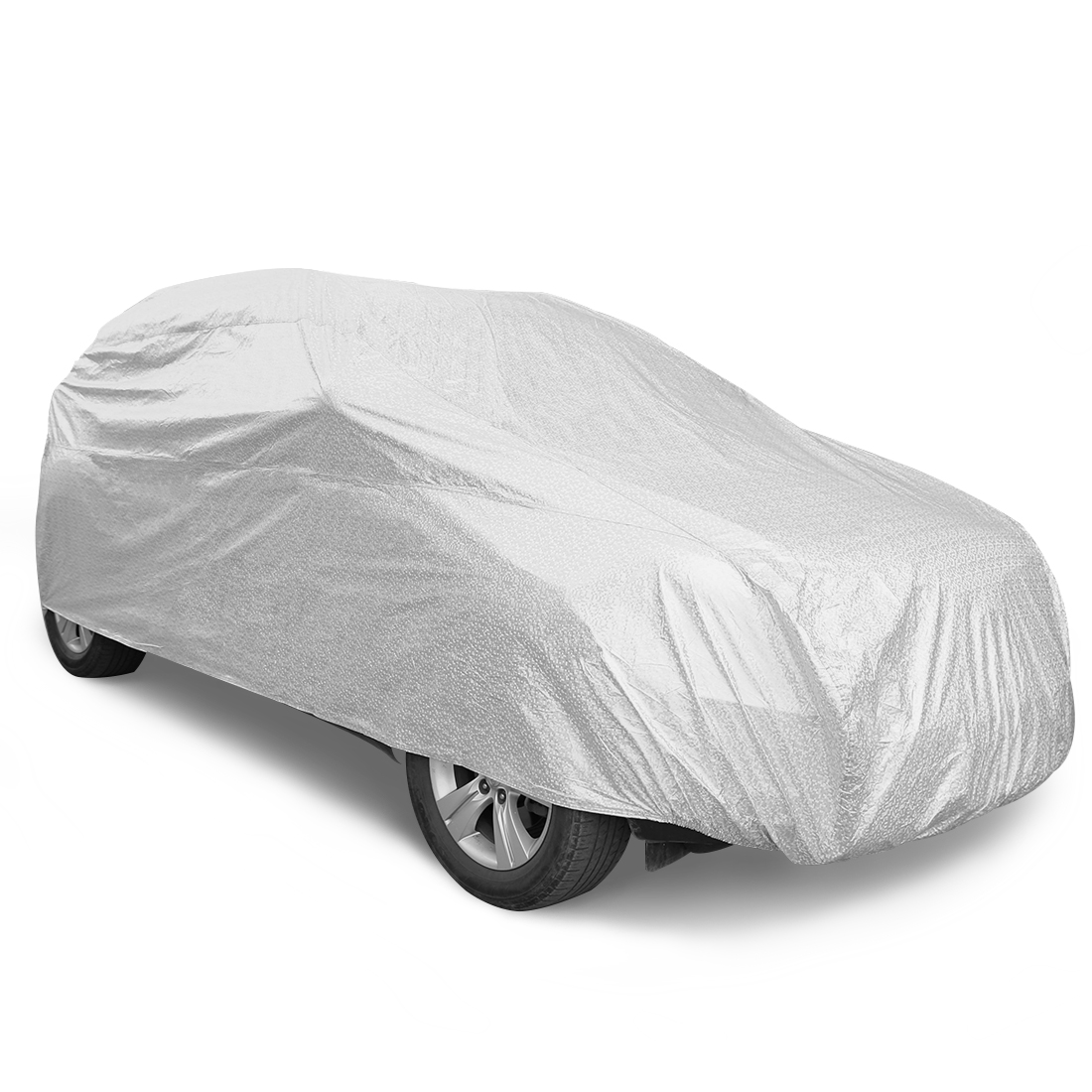 YL 10 Layers Car Cover Breathable Soft Aluminum Auto Sun Shade Ice Frost Resistant Waterproof Dustproof UV Heat Block