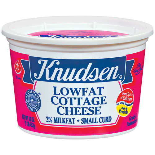 Knudsen Lowfat Small Curd Cottage Cheese, 16 oz