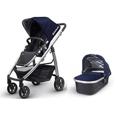 Uppa Baby cruz 2016 taylor indigo with bassinet