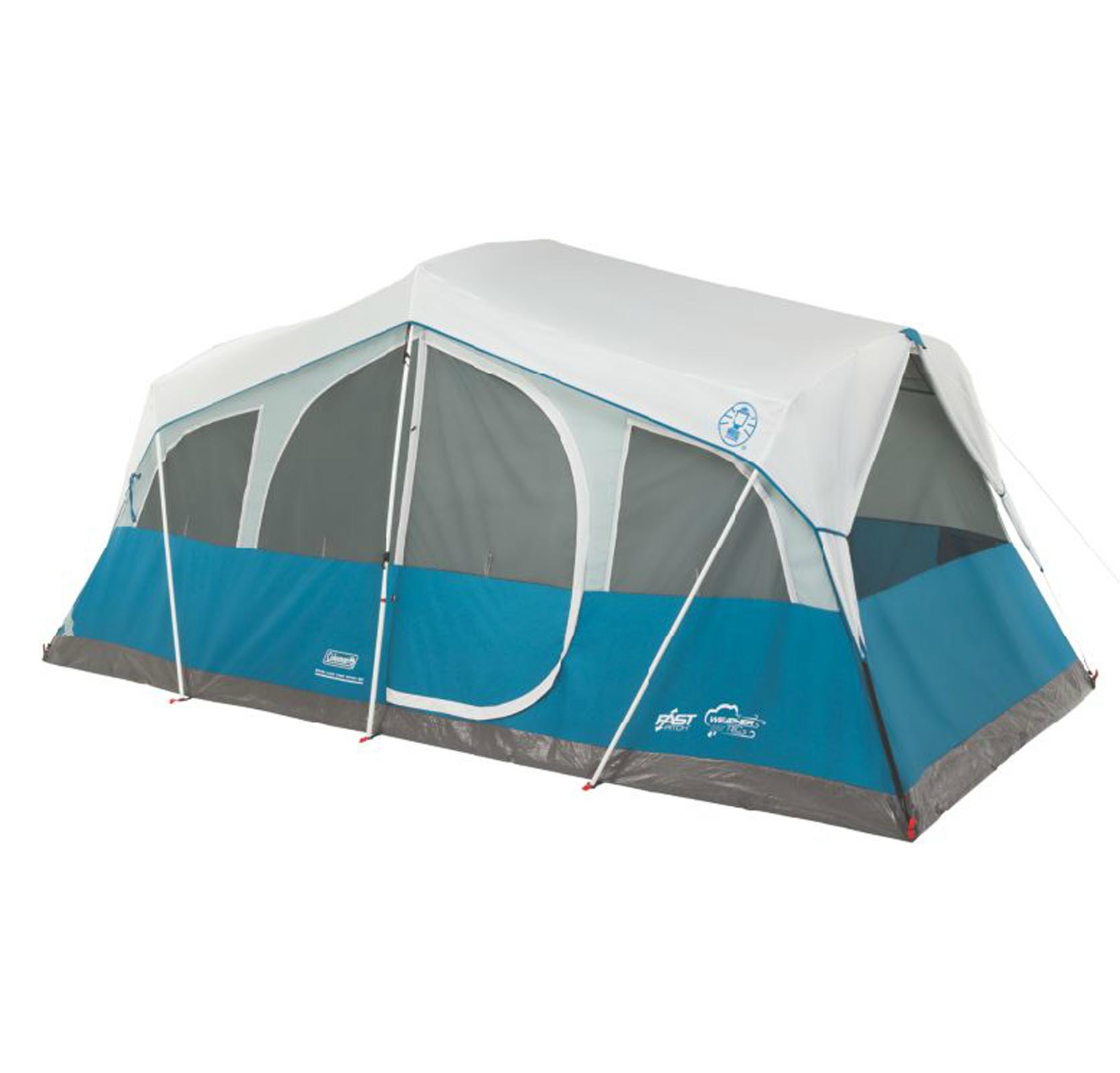 NEW Coleman Echo Lake Outdoor Camping 8 Person Fast Pitch...