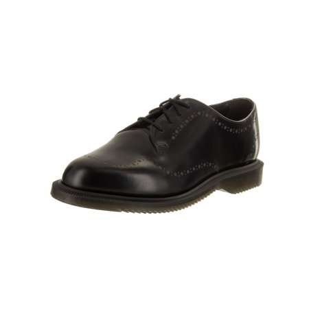 dr. martens women's charlotte casual shoe](dr martens black and white wingtip shoes)
