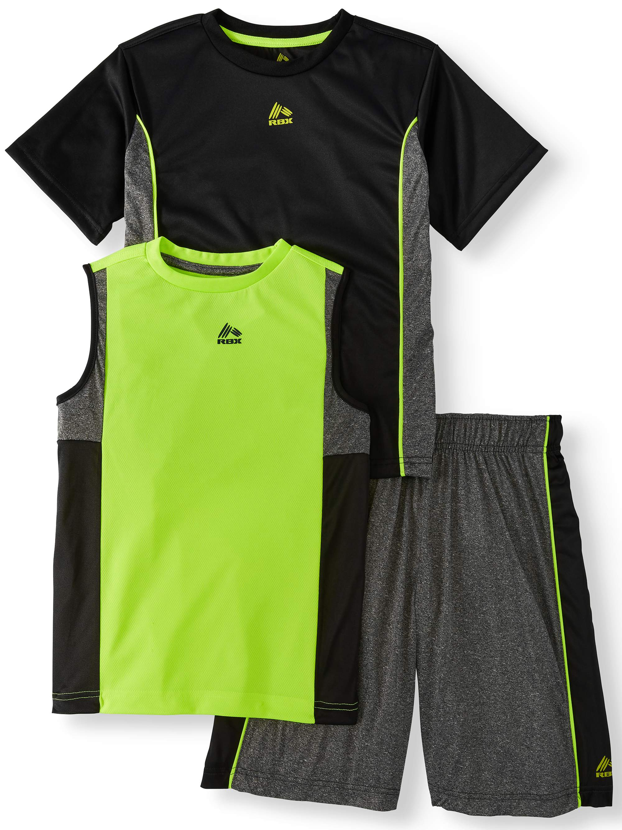 Tee, Muscle Tank and Short 3 Piece Set (Big Boys)