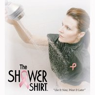 - The Shower Shirt Post Surgery Shower Garment-White-Large/Extra Large