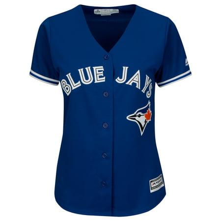 Women's Devon Travis Toronto Blue Jays MLB Cool Base Replica Away Jersey - image 1 de 2