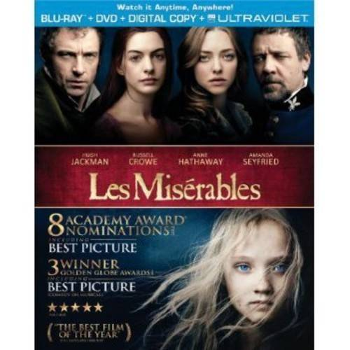 Les Miserables (2012) (Blu-ray + DVD + Digital HD) (With INSTAWATCH)