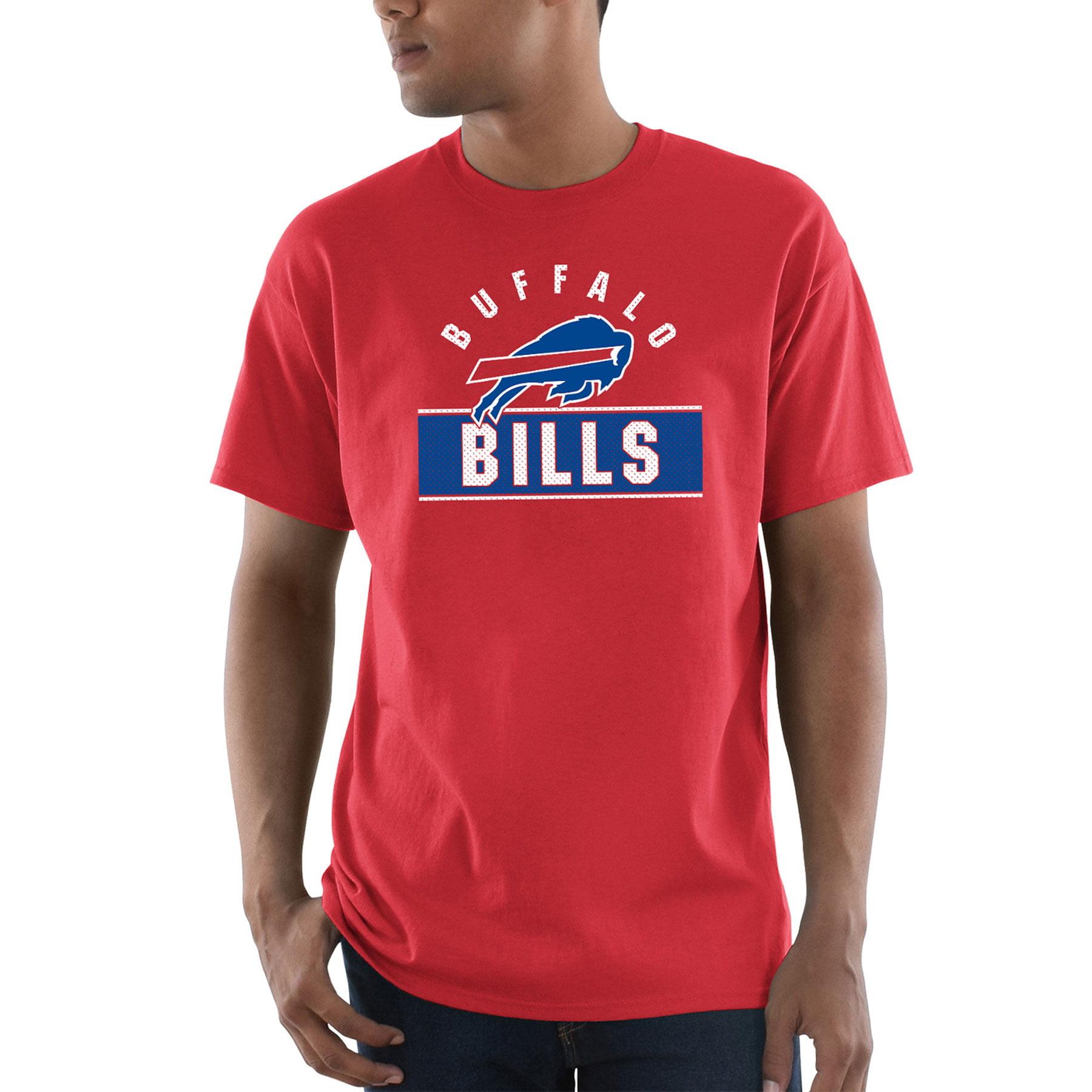Buffalo Bills Majestic Maximized T-Shirt - Red