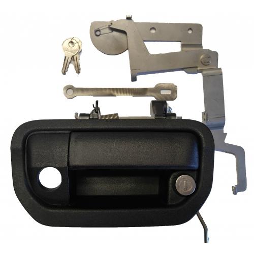 Pop & Lock PL6250 Tailgate Lock  Locks Tailgate Handle; Manual; Black; Plastic; Direct-Fit; Must Have PL8600 Power Lock Installed - image 1 of 1