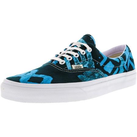 46d3dfac7c5dbe Vans - Vans Era Della Batik   Multi Blue Ankle-High Canvas Skateboarding  Shoe - 12M 10.5M - Walmart.com