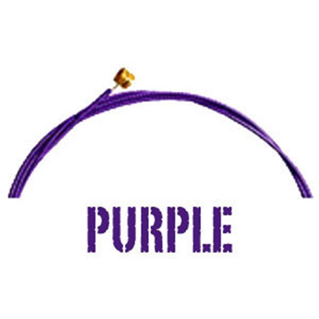 Premium Acoustic 10 Gauge Guitar Strings Light, Purple
