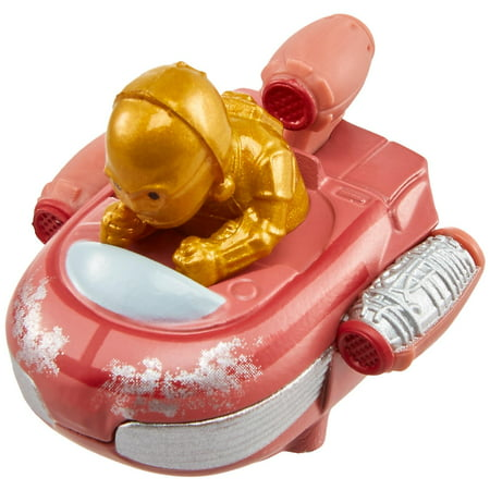 Hot Wheels Star Wars C-3PO & Landspeeder Battle
