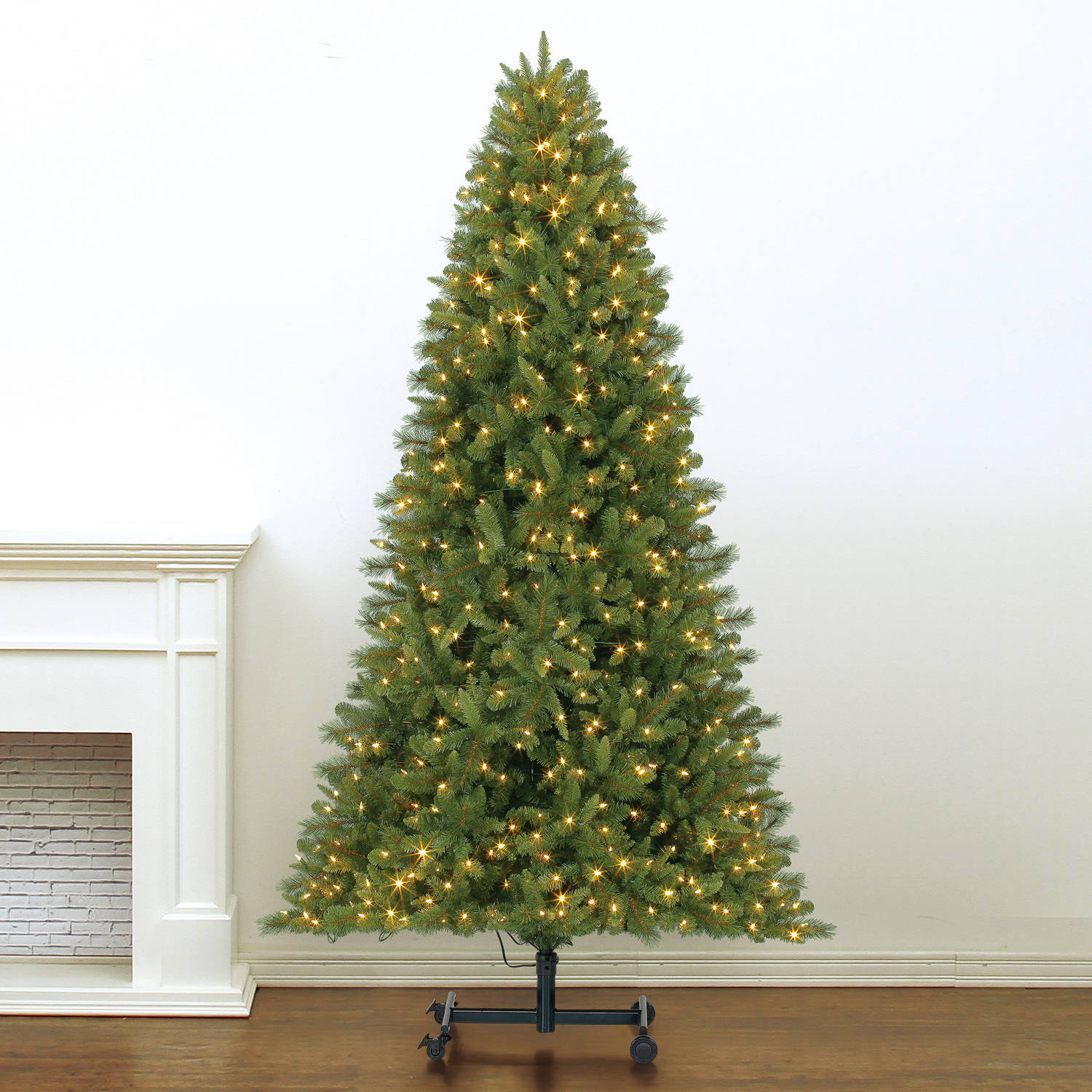 Holiday Time Grow and Stow 7-9' Pre-Lit Douglas Pine Christmas Tree