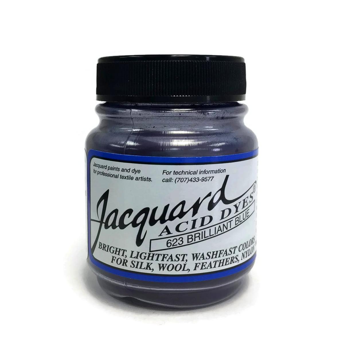 Brilliant Blue Jacquard Acid Dyes - 1/2 Oz
