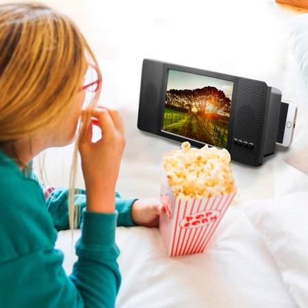 3D Phone Magnifier w/ Radio And Bluetooth - Works with Any Smart Phone ()