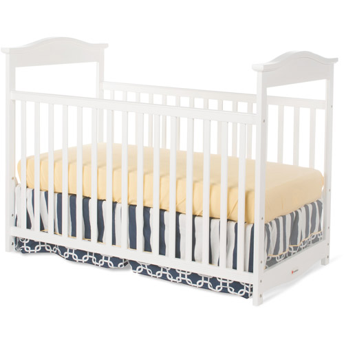 Foundations Princeton Clear Choice Full Size Crib, White