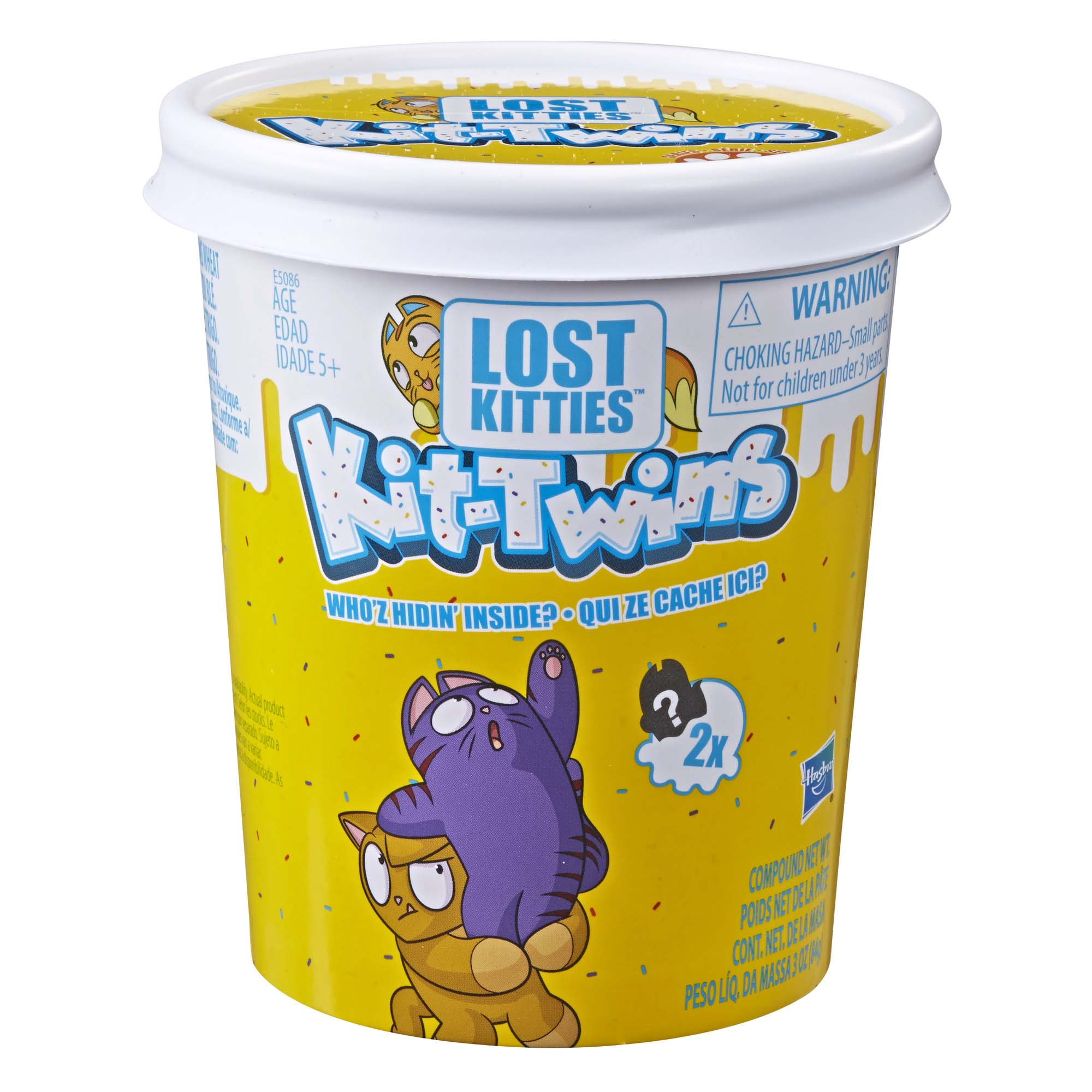 Lost Kitties Kit-Twins Toy, 36 pairs to collect, Ages 5 and Up