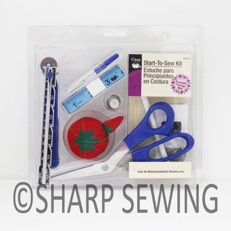 DRITZ START TO SEW SEWING KIT & SEWING NOTIONS # D27081 27081