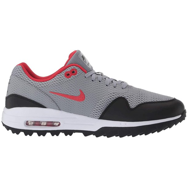 Nike Golf Air Max 1G Particle Grey/University Red/Black/White ...