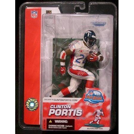 Clinton Portis Memorabilia - Clinton Portis Pro Bowl Figurine New In Box Limited Edition, 2004 Clinton Portis Pro Bowl Mcfarlane figurine By McFarlane