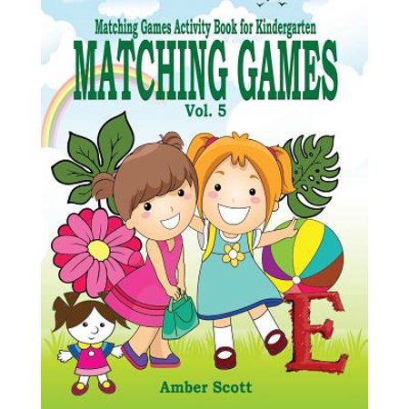 Matching Games ( Matching Games Activity Book for Kindergarten) - Vol. 5 - Halloween Games Kindergarten Online