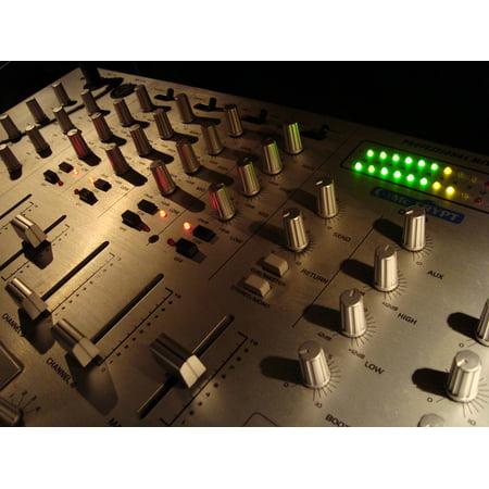 LAMINATED POSTER Music Electronics Mixer Sound Audio Music Studio Poster Print 24 x
