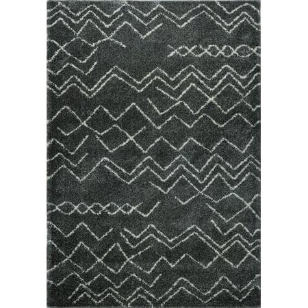 Ladole Rugs Contemporary Moroccan Trellis Area Rugs Carpet