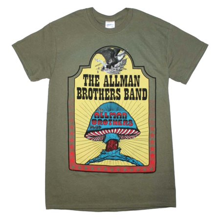 - Allman Brothers Hell Yeah T-Shirt - Military Green - XL