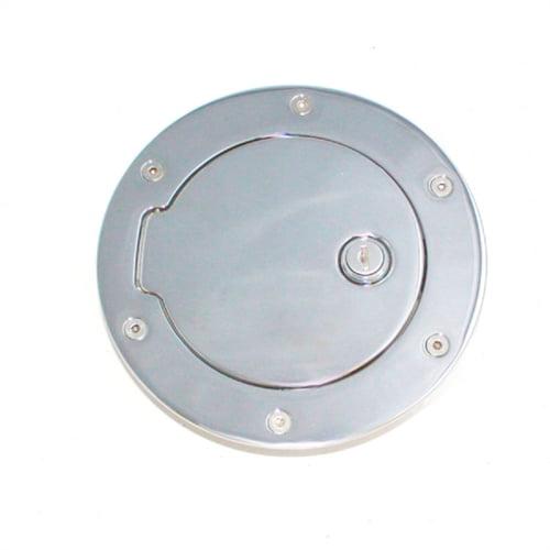 ALL SALES 6047CL 13-C RAM 1500/2500/3500(EXCEPT DUALLY) CHROME LOCKING FUEL DOOR